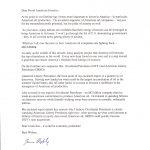 OREO Pump Letter