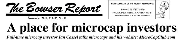 The Bowser Report Interviews Ian Cassel