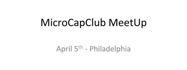 MicroCapClubMeetUpApril5image