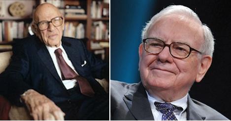 Walter Schloss and Warren Buffett